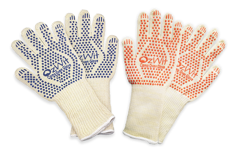 Camp Oven Heat Gloves Double Pack Large + Small