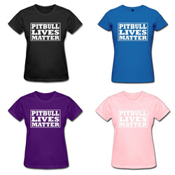 Pitbull Lives Matter Women's T-Shirt