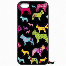 Multicolor Size Trippy Pattern French Bulldog Phone Case for LG