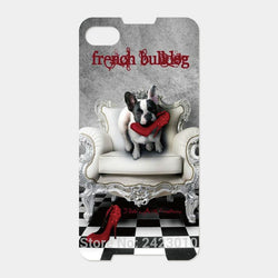 French Bulldog Couch Biting Red Heels Phone Case for Blackberry