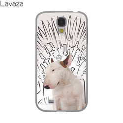 Bull Terrier Game of Throne Background Drawing Phone Case for Galaxy