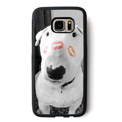 Bull Terrier Kisses Phone Case for Galaxy