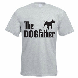 Bull Terrier The DOGfather Men's T-Shirt