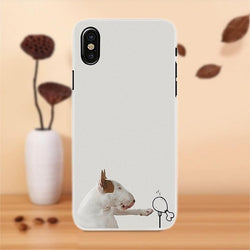 Bull Terrier Drumstick Phone Case for iPhone