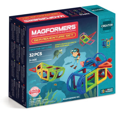 Sea Adventure Set - Magformers - Artock Australia