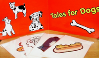 Dog Arm Puppet - Tales for Dogs routine