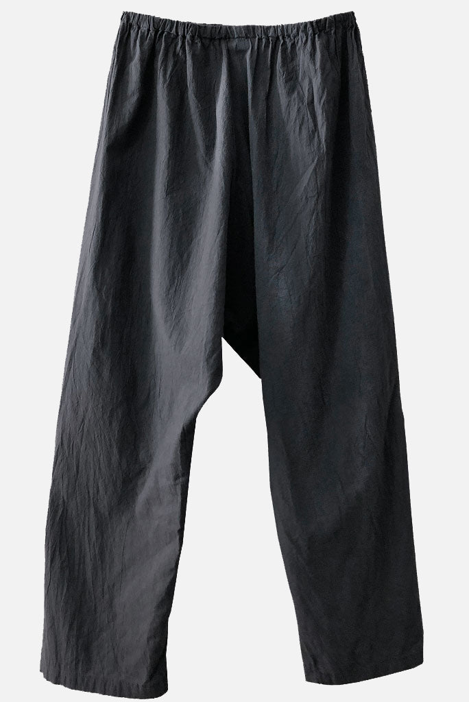 Drop Crotch Pant - Charcoal
