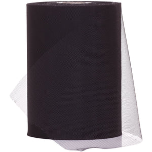 Black Tulle Fabric Roll - 100 Yards