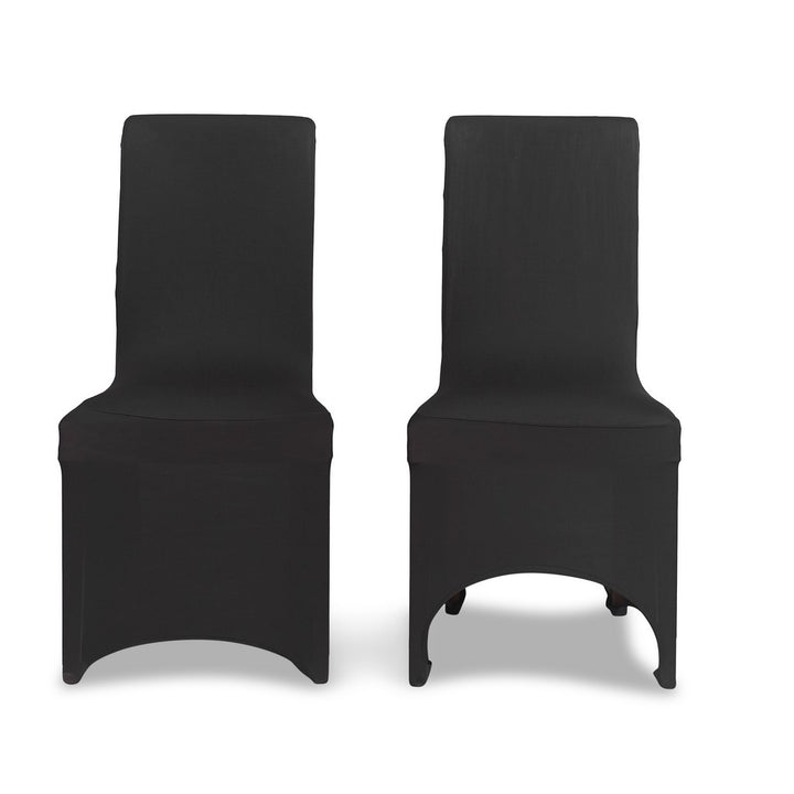 Black Lycra Chair Cover