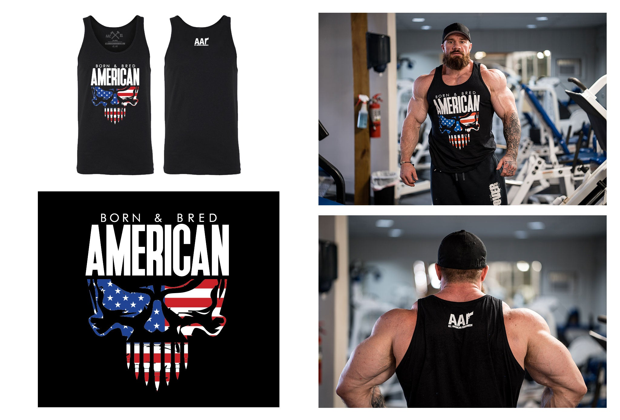 Born & Bred American Tank Top