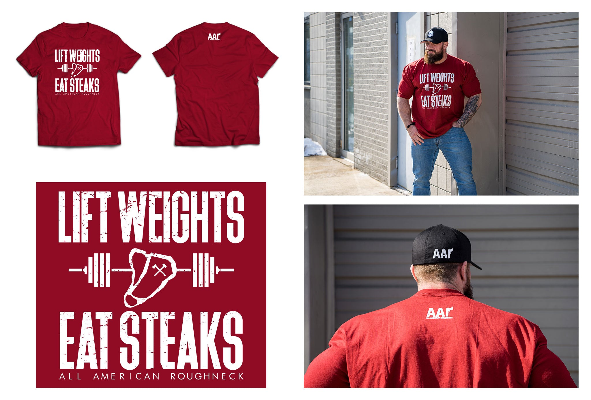 Lift Weights Eat Steaks