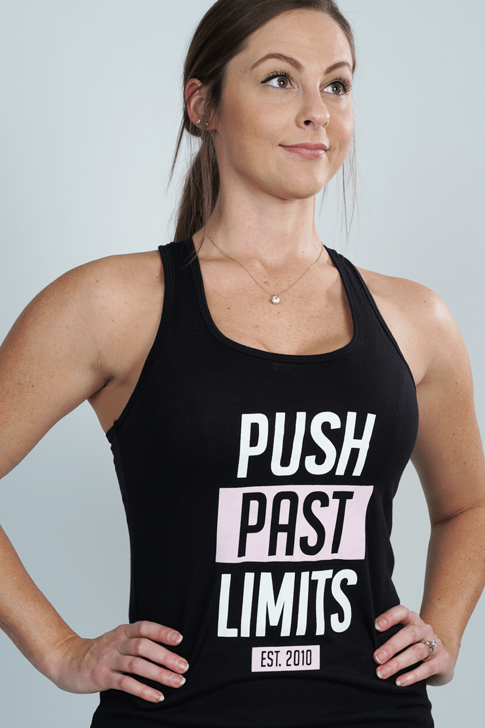 Push Past Limits Womens Raceback