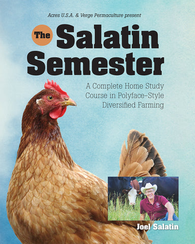 Front cover image of Salatin Semester DVD/Book set