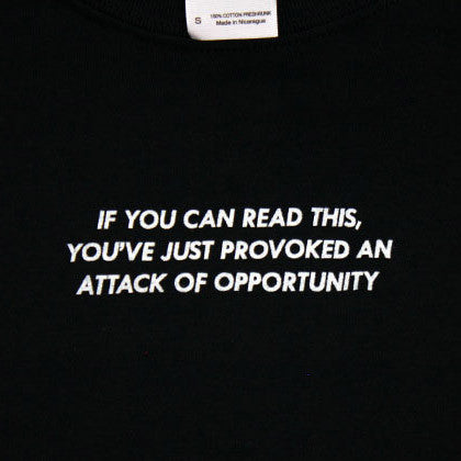 Attack of Opportunity Shirt