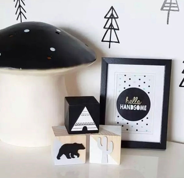 Teepee Wooden Blocks - Pretty Yum Co