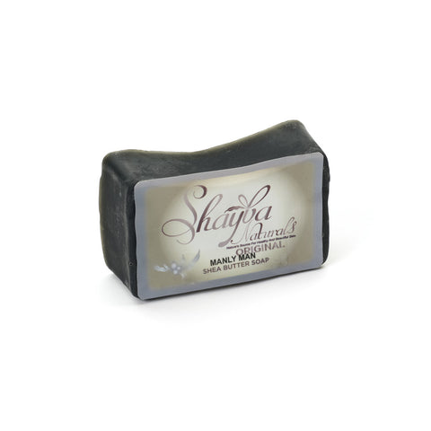 Shea Butter Soap Bar - Manly Man - Old Label