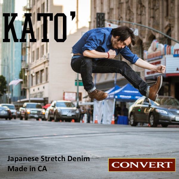 Kato Denim - Japanese Selvedge Denim That's Super Comfy Right Out The Gate