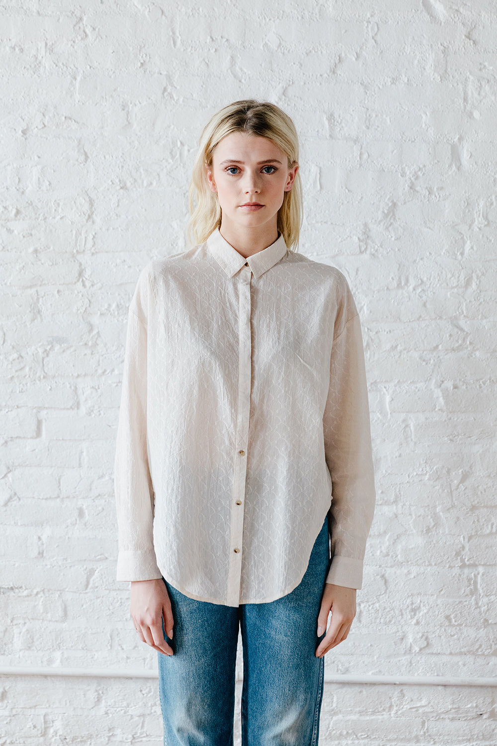 Sabina Button Down