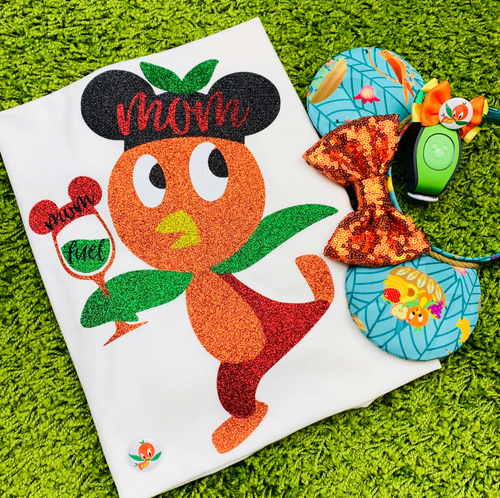 Orange Bird With Wine