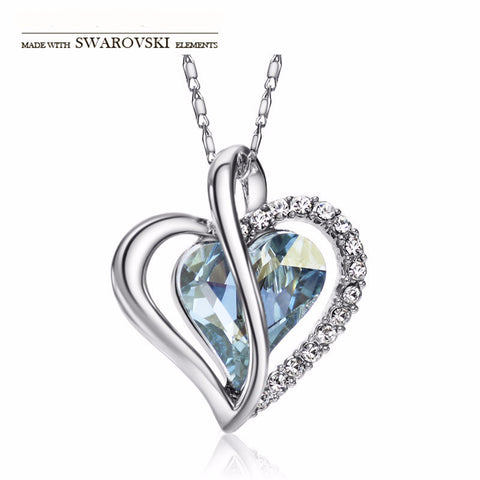 Made with Swarovski Crystal Jewelry Necklaces for Women Bridal Jewelry Necklace