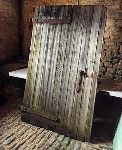 1900's Weathered Wood Barn Door