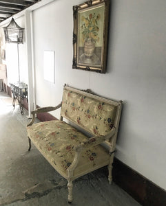 19th century French canapé couch sofa.
