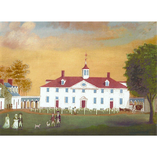 Mount Vernon 1792 Stretched Canvas Print - LDA - The Shops at Mount Vernon