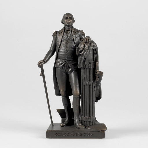 Bronze Colored Statue of Washington by Houdon - The Shops at Mount Vernon - The Shops at Mount Vernon