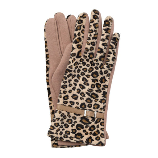 Leopard Gloves - TOP IT OFF - The Shops at Mount Vernon