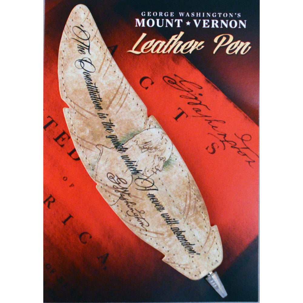 Constitution Leather Pen - The Shops at Mount Vernon - The Shops at Mount Vernon