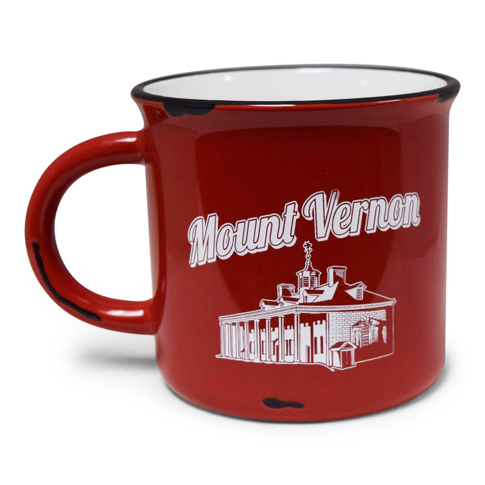 GW Slept Here Mug in Red - CHARLES PRODUCTS INC. - The Shops at Mount Vernon