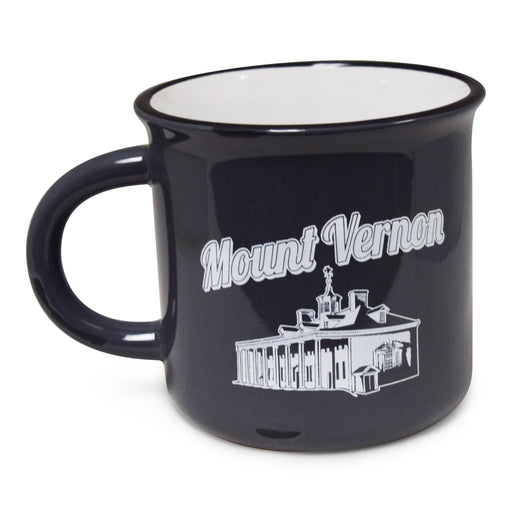 GW Slept Here Mug in Gray - CHARLES PRODUCTS INC. - The Shops at Mount Vernon