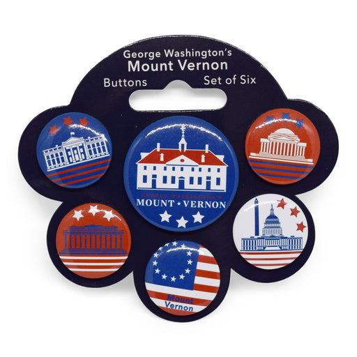 Mount Vernon Button Set - 250 - The Shops at Mount Vernon