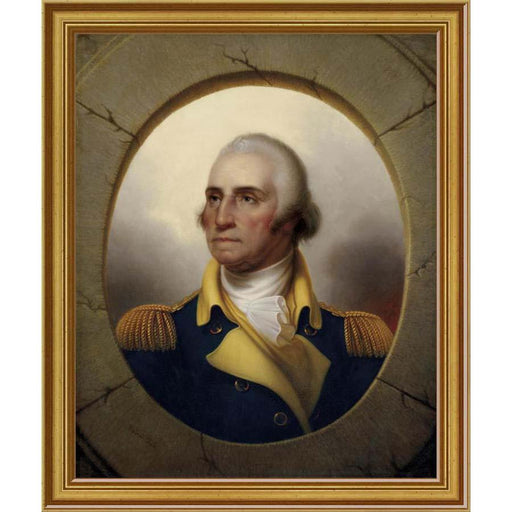 Washington Porthole Portrait: Small Print - BENTLEY GLOBAL ARTS GROUP - The Shops at Mount Vernon