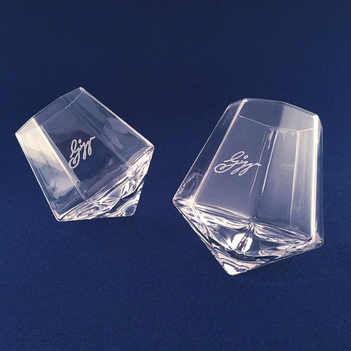 Boxed Set of 2 Crystal Tasting Glasses - DESIGN MASTER ASSOCIATES - The Shops at Mount Vernon