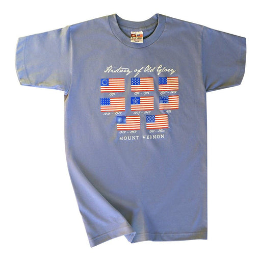Old Glory T-Shirt - PLANET COTTON - The Shops at Mount Vernon