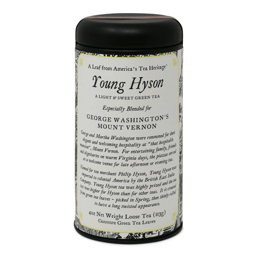 Young Hyson Green Tea - OLIVER PLUFF & CO. - The Shops at Mount Vernon
