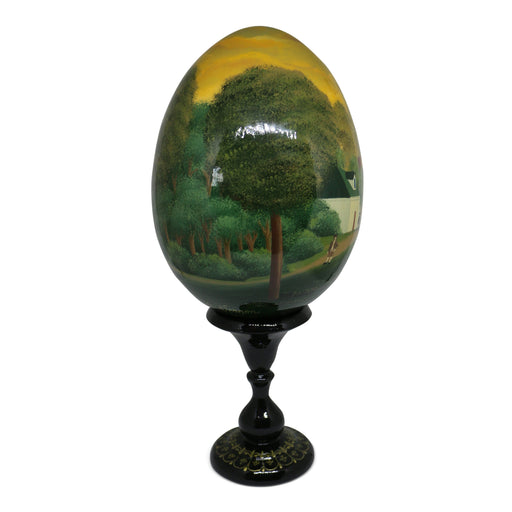 Large 1792 Egg with Stand - SOUVENIR ARTS - The Shops at Mount Vernon