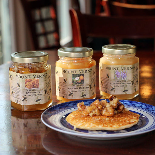Walnut Infused Raw Honey - The Shops at Mount Vernon - The Shops at Mount Vernon