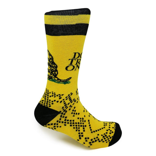 Don't Tread On Me Socks - Funatic - The Shops at Mount Vernon