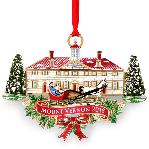 Mount Vernon 2018 Annual Ornament - DESIGN MASTER ASSOCIATES - The Shops at Mount Vernon
