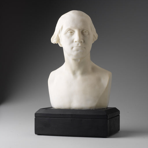 "Houdon Bust of George Washington, 12"" White - DESIGN MASTER ASSOCIATES - The Shops at Mount Vernon"
