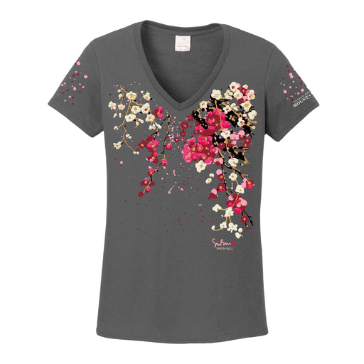 Mount Vernon Cherry Blossom T-Shirt by Simon Bull - Simon Bull Studios - The Shops at Mount Vernon