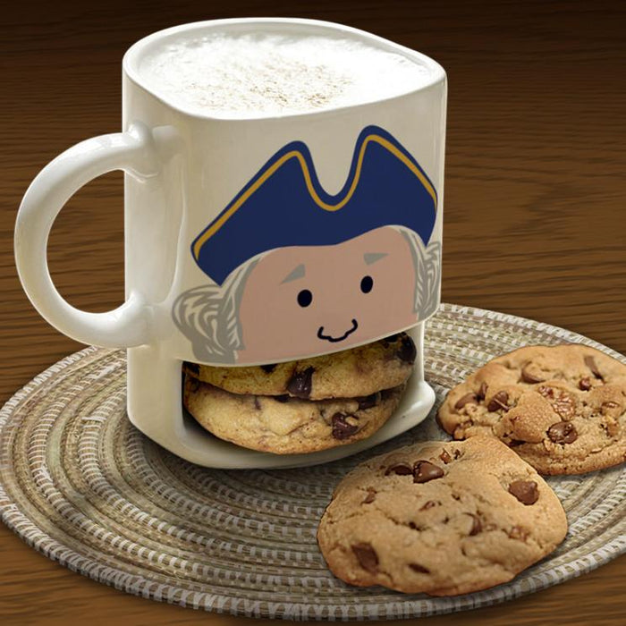 Hungry George Stoneware Cookie Mug - DESIGN MASTER ASSOCIATES - The Shops at Mount Vernon