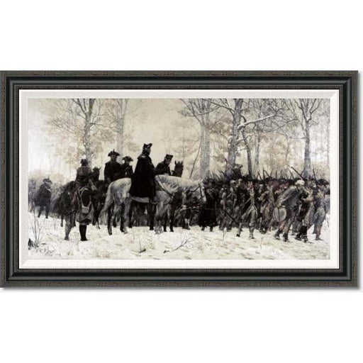 Washington at Valley Forge by Trego: Medium Edition - BENTLEY GLOBAL ARTS GROUP - The Shops at Mount Vernon