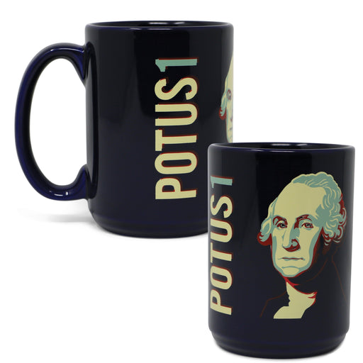 GW POTUS1 Mug - The Shops at Mount Vernon - The Shops at Mount Vernon