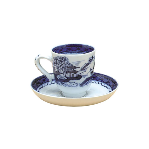 Blue Canton Cups & Saucers - MOTTAHEDEH & COMPANY, INC - The Shops at Mount Vernon