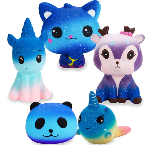 Early Christmas Deal - Jumbo Cute Galaxy Scented Squishy Toy