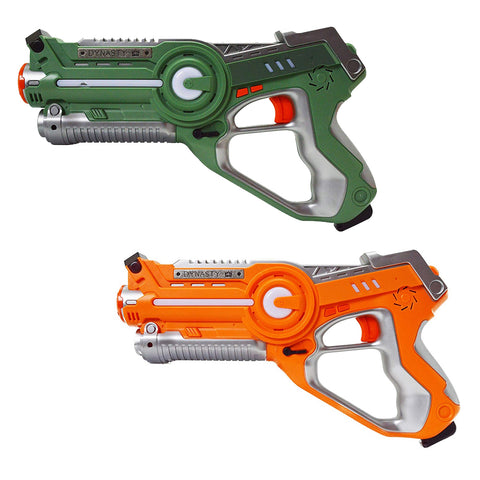 Flash Sale - Laser Tag 2 Pack Orange & Green