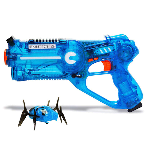 Flash Sale - Light Up Robot Bug with Blue Blaster